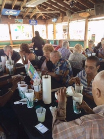 Lunch at Tiki Bar