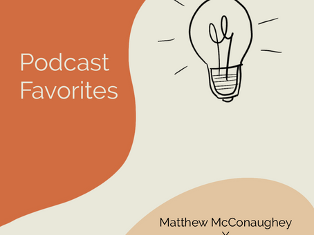 """Podcast favorites - """"the art of catching green lights"""""""