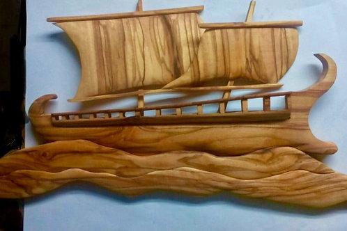 Ancient Greek War Ship