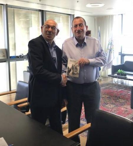 אבי סלומה וראש עירית תל אביב רון חולדאי