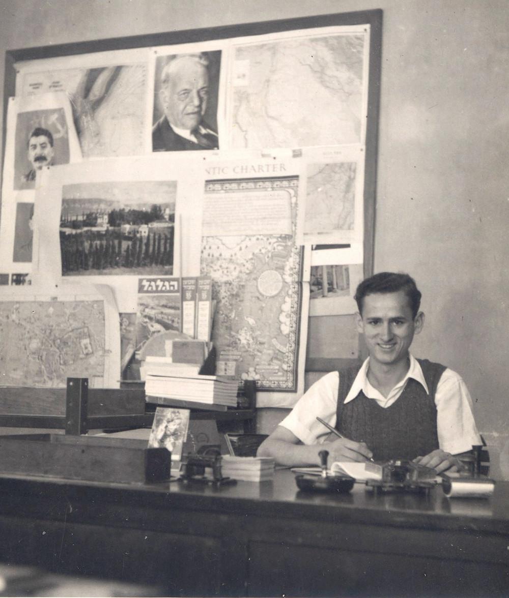 ישעיהו עטייה, מנהל תפעול במפעל פיקובסקי צינקוגרפיה