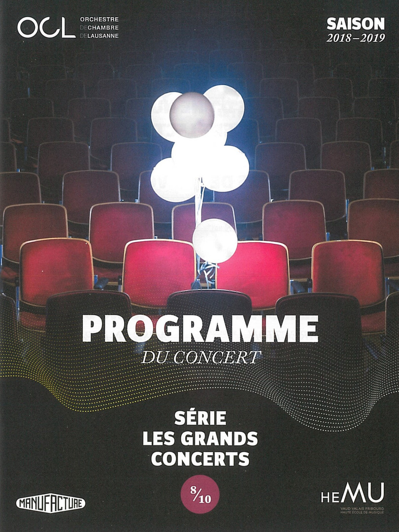 Orchestre de Chambre de Lausanne - Le Songe d'une nuit d'été