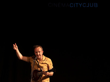 Thierry Romanens - Concert at CityClub Cinema