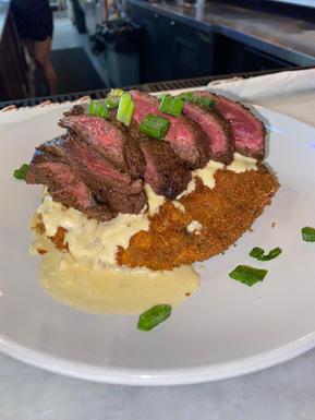 hanger steak Nicholas