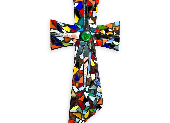 DIY Cross Kit - Mosaic Stained Glass
