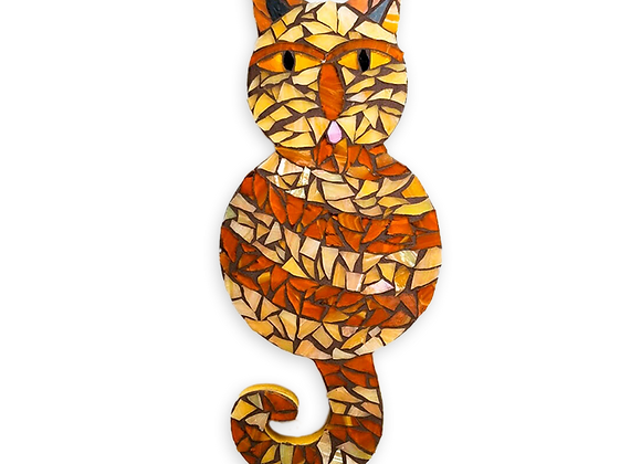 DIY Cat Kit - Mosaic Stained Glass