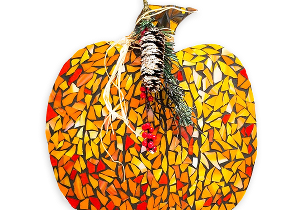 Pumpkin DIY Kit - Mosaic Stained Glass