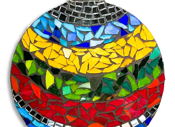 Ornament DIY Kit - Mosaic Stained Glass