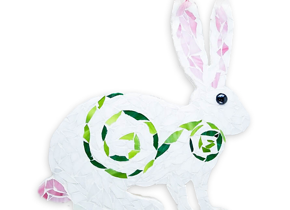 DIY Bunny Kit - Mosaic Stained Glass