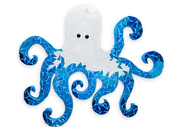 DIY Octopus Kit - Mosaic Stained Glass