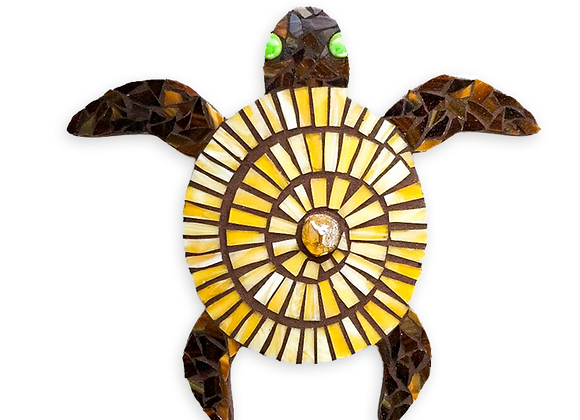 DIY Turtle Kit - Mosaic Stained Glass
