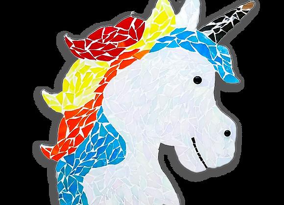 DIY Unicorn Kit - Mosaic Stained Glass