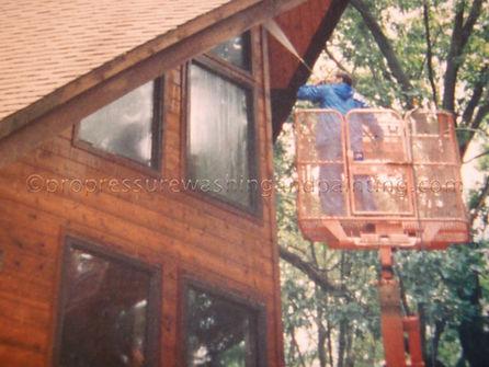 log cabin repair