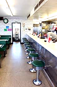 Courtesy Diner Kingshighway Seating Stools Seating St. louis The Hill