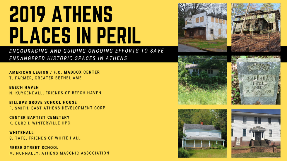 Historic Athens Places in Peril