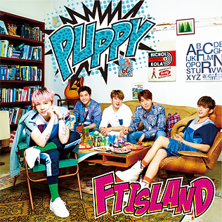 FTISLAND 15th Single「PUPPY」