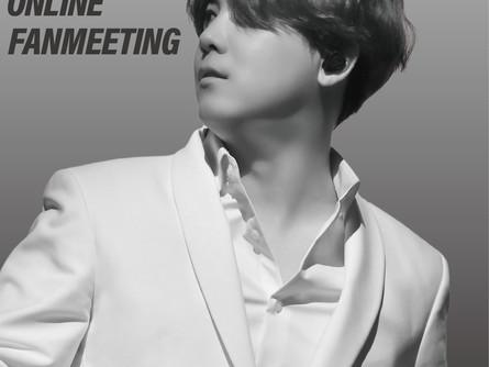 """【英語】LEE HONG GI 1st JAPAN ONLINE FANMEETING """"He's Back"""" will be held on June 13th!"""