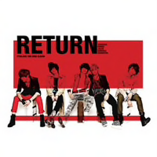 FTISLAND 3rd Mini Album「RETURN」