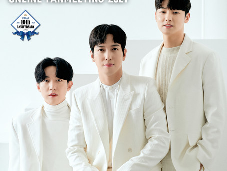 CNBLUE 1st JAPAN ONLINE FANMEETING 2021 ~Smile Again~