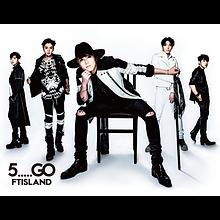 FTISLAND 5th Album「5.....GO」