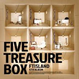 FTISLAND 4th Album「FIVE TREASURE BOX」