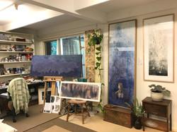Emma Jennings Artist Studio 2017