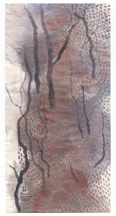 'The Beautiful River II' 2021 Emma Jennings