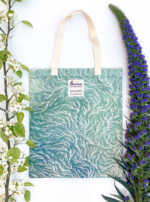 Limited Edition Art Tote Bag 'Fluidity III'