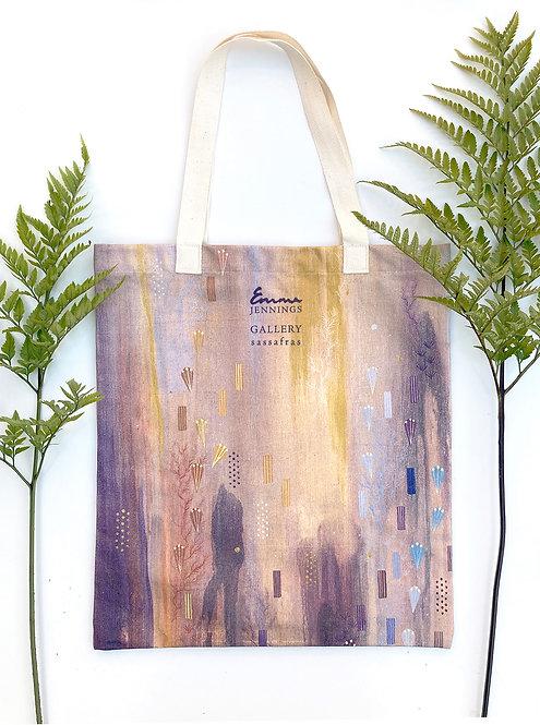 Limited Edition Art Tote Bag 'Shadow Rain III'