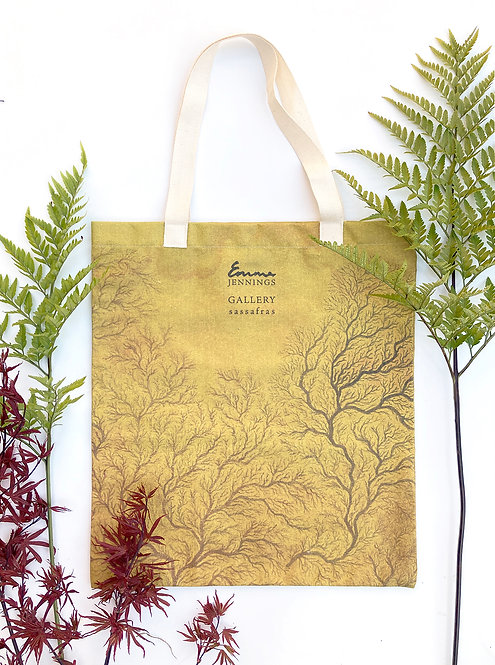 Limited Edition Art Tote Bag 'The Dying Gilded Ocean'