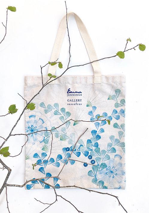 Limited Edition Art Tote Bag 'Meandering Leafvine'