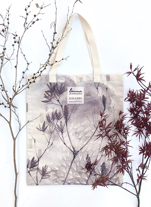 Limited Edition Art Tote Bag 'Banksia'
