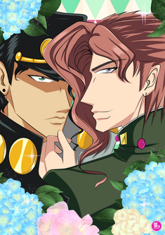 Jojo Bizzare Adventure - Kakyoin and Jotaro