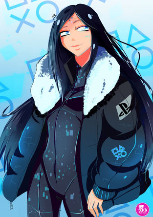 PS4 Girl