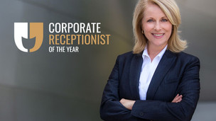 Why is the Corporate Receptionist of the Year Award important?