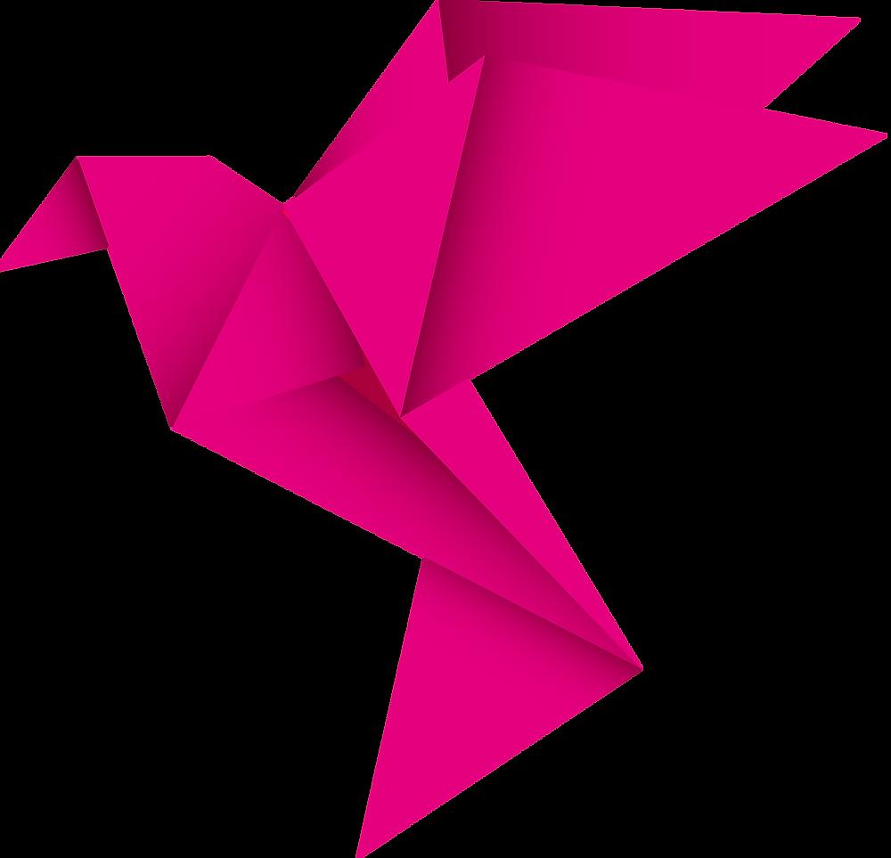 StrawberryFinch logo bird