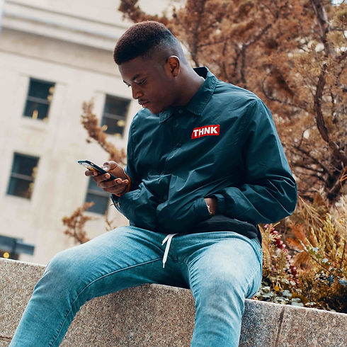 Man checking his mobile cell phone