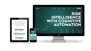 New value proposition, brand identity and website design for a start-up risk intelligence platform