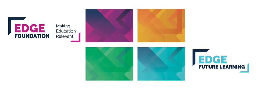 New colours for Edge Foundation brand identity