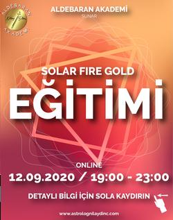 Solar Fire Eğitimi