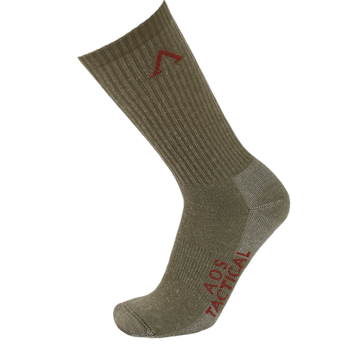 AOS Tactical Alpha Temperate Merino Wool Crew Sock