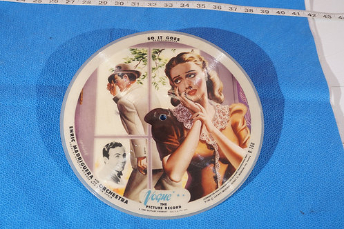 78 Vogue Picture Record - Enric Madriguera And His Orchestra