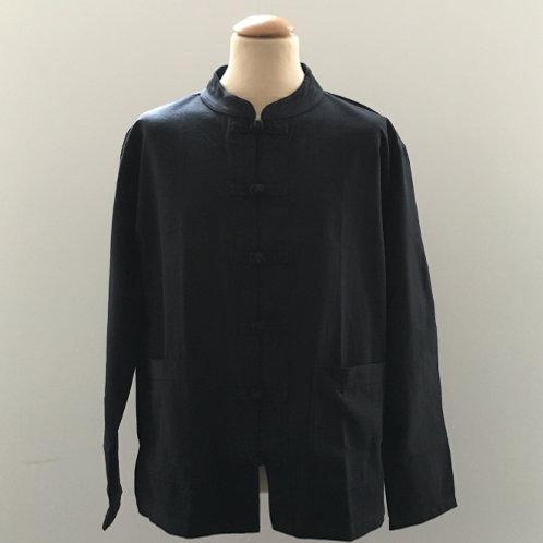 "Shirt ""Shama Cotton"" zwart"