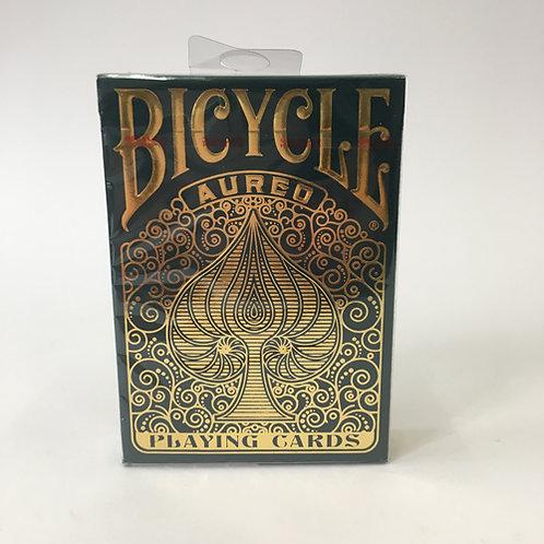 Bicycle poker kaarten cards speelkaarten aureo gulden snede