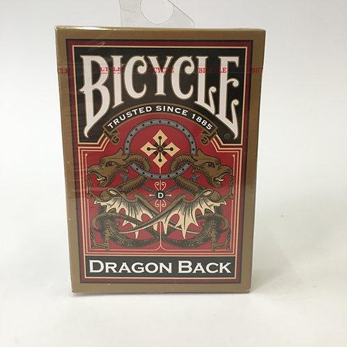 De Bicycle Dragon Backs speelkaarten