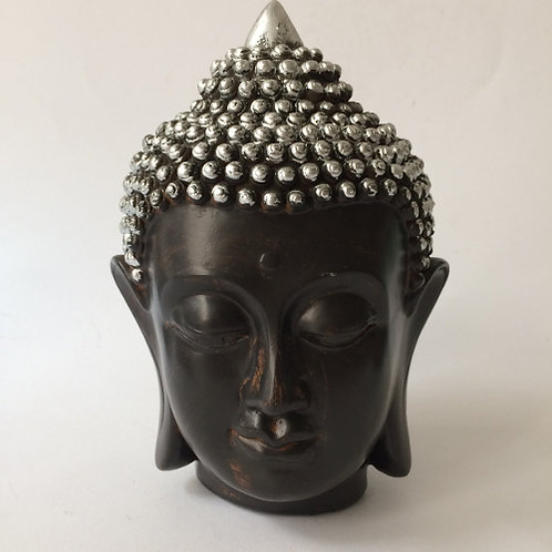 Thaise Boeddha Buddha thailand zilver zwart hoofd