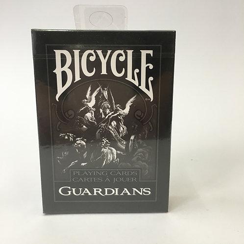 bicycle guardian speelkaarten poker cards