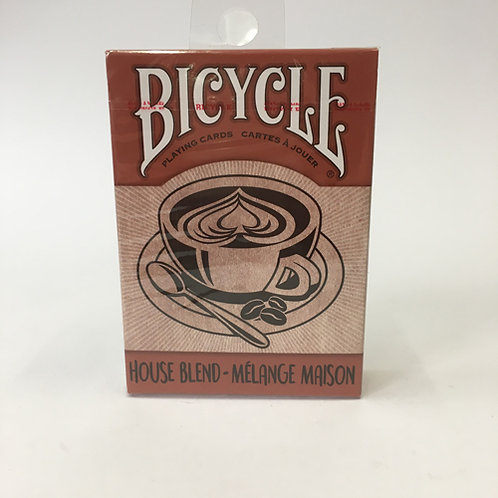Bicycle  House Blend Pokerkaarten koffie cards