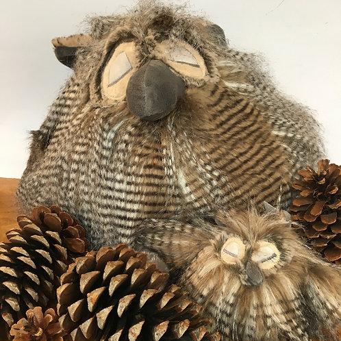 Uil knuffel 30cm