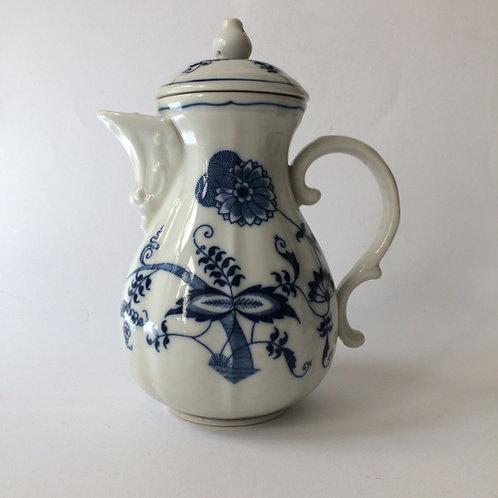 Blue Danube koffiepot 0,75 liter porselein